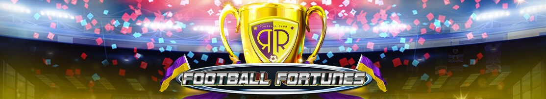Brand new slot at Thunderbolt Online Casino- Football Fortunes where you have the chance to score the golden football and TRIPLE all your prize money!
