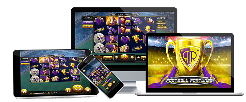Brand new slot at Thunderbolt Online Casino- Football Fortunes! take home the tropy of fortunes and add millions to your bank account!